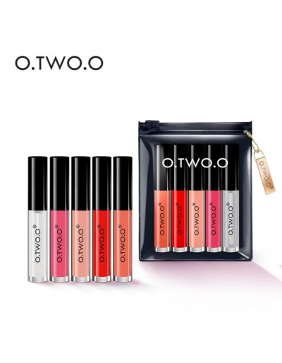 O.two.O 5 colors velvet lip...