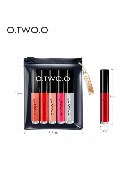 O.two.O 5 colors velvet lip...