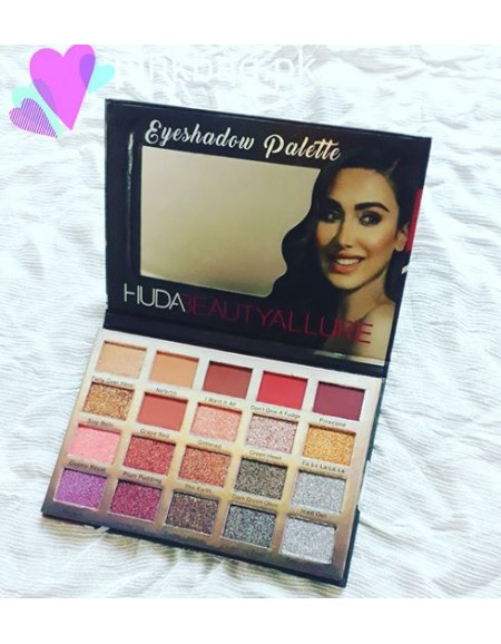 20 Color Eyeshadow - Huda...