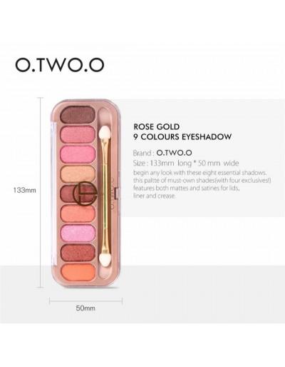 O.TWO.O 9 color eyeshadow...