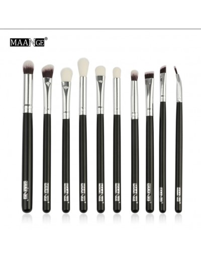 MAANGE 10 eyeshadow brush set