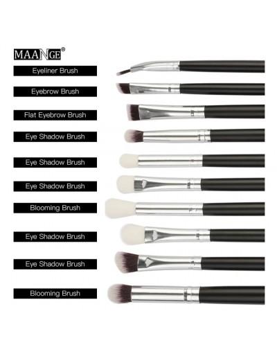 MAANGE 10 eyeshadow brush set