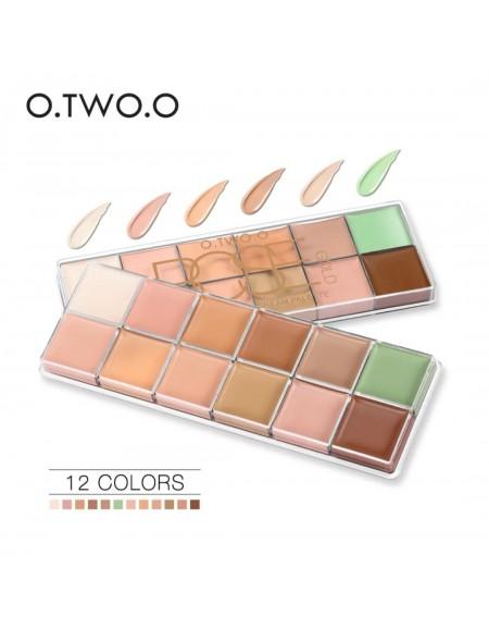 O.TWO.O 12 color concealer...