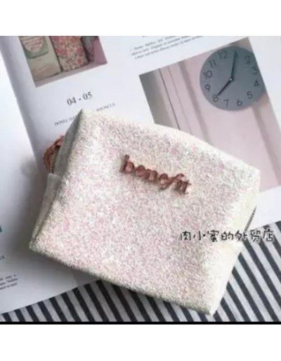 MAKEUP BAG BENEFIT light pink