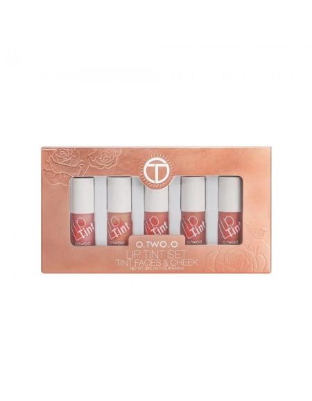 O.two.O lip tints (set of 5)
